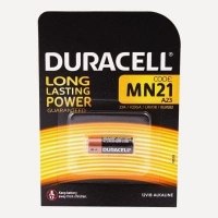 Duracell  батарейки для электронных устройств MN21 1 штук