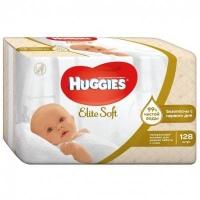 Салфетки влажные Huggies Elite soft 128 шт.