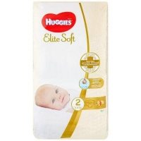 Подгузники Huggies Elite Soft 2 (4-6 кг) 50 шт