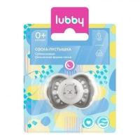 """Lubby соска- пустышка силик.""""Нежная для сна"""" кольцо, колпачок 13657"""