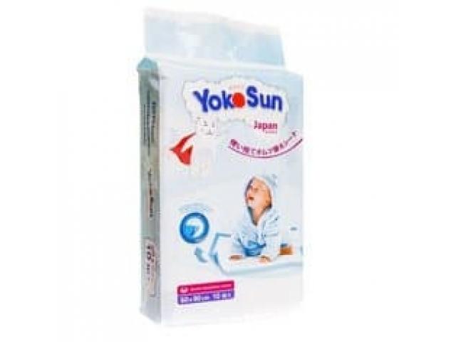 Детские одноразовые впитывающие пеленки YokoSun M10 50*50 см