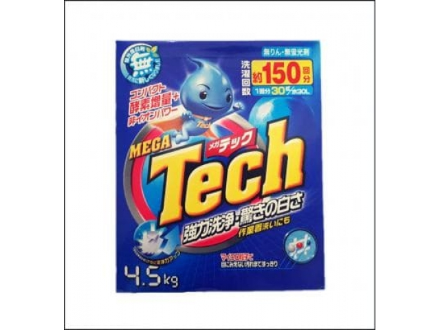 Tech Mega Концент. стиральный порошок 4.5 кг