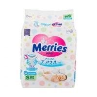 Подгузники Merries S 82, 4-8 кг