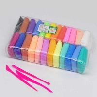 Полимерная глина пластилин 24цветов