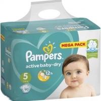 Подгузники Рampers Active Baby Dry 5 (11-16 кг.) 90 шт