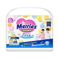 Merries (Мерис) Трусики-подгузники для детей  XXL 15-28 кг, 26+2 шт.