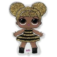 Шар Кукла ЛОЛ (LOL), Сияющая Королева наполненный гелием