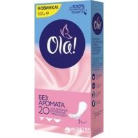 Ежедневные гигиенические прокладки OLA! 20 шт  Без аромата