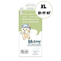 Подгузники BB Kitty XL 44 шт. (12-17 кг)