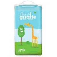 трусики-подгузники Lovular-Giraffe,M 6-10 кг, 52 шт/уп