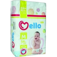 "Подгузники- трусики ""Mello"" размер М (6-10 кг.) 56 шт."