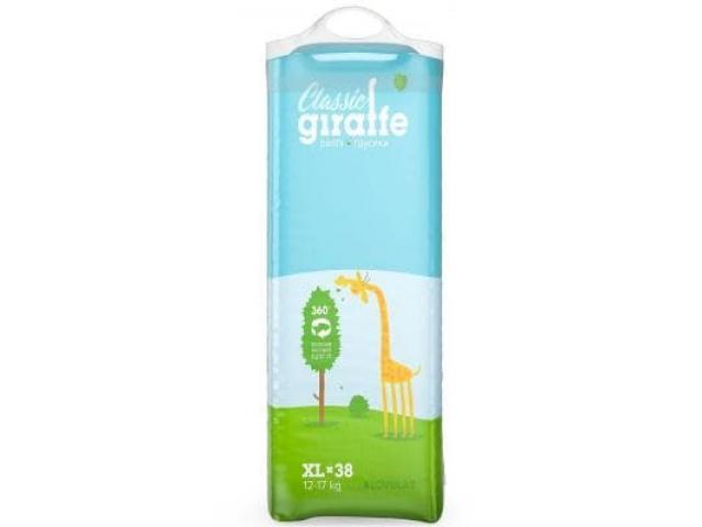 Трусики- подгузники Lovular Giraffe XL 12-17 кг. 38 шт.