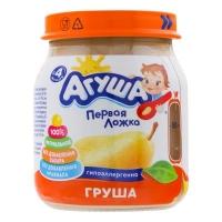 Пюре агуша 4мес Груша 115гр