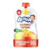 Пюре Агуша яблоко -персик 5+
