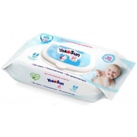 Салфетки влажные детские Yokosun, упаковка 64 штук