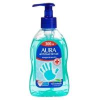 Жидкое мыло Aura  с антибакт. эффектом с алоэ вера
