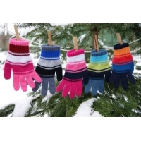 margot перчатки WOJAN одинарная вязка (размер 15)