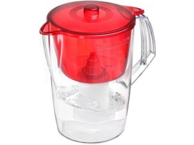 Барьер Лайт фильтр- кувшин для воды 3.6 л. красный