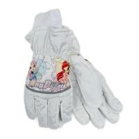 Болоневые перчатки для девочки (4-6 лет)