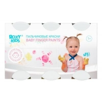 Пальчиковые краски для малышей 1+