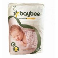BayBee подгузники S (4-8 кг) 64 шт