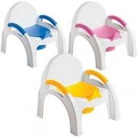 Горшок-стульчик с крышкой Пластишка