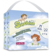 Sachiko подгузники размер М  (6-11кг) 22 шт