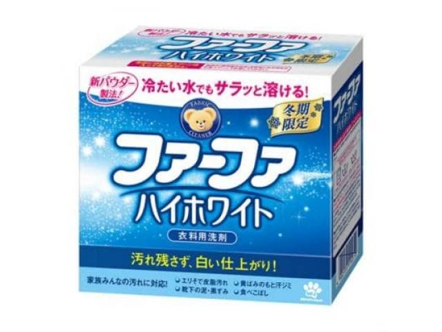 Nissan FaFa Стиральный порошок конц. с отбеливающим эффектом Морозная свежесть Series, 0,9кг