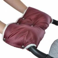 Муфта ЛЮКС для рук на коляску (мех)