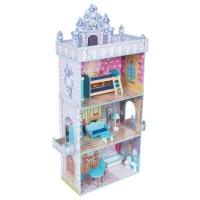 ИГРУША, кукольный дом сборный, с комп. мебели, (80,3*30*141 см)