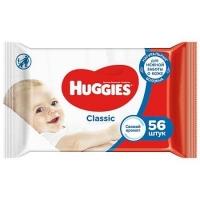 Салфетки влажные Huggies classic  (56ШТ)