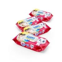 Влажные салфетки детские  KIOKI 80 шт