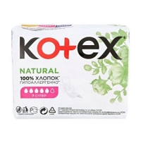 Прокладки Kotex Natural Super 7 шт