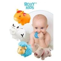 """детские игрушки для ванной """" моя ферма """" Roxy kids 4шт"""