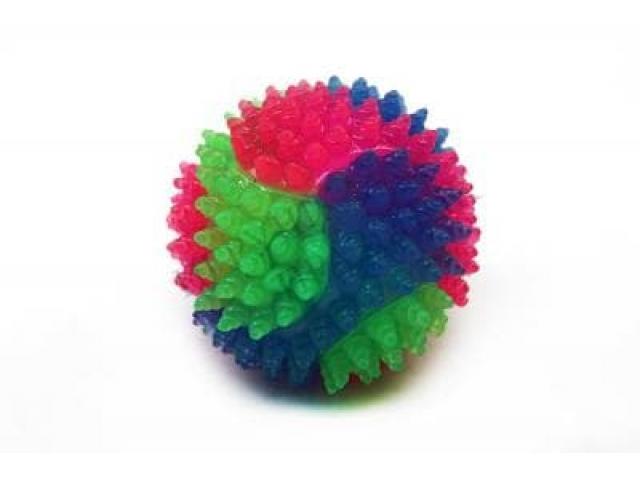Мяч- Ёжик разноцветный