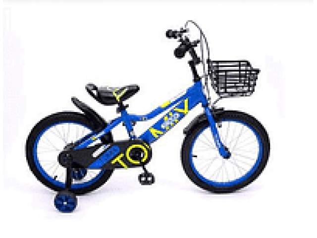 """Детский двухколесный велосипед TOMIX """"JUNIOR CAPTAIN 16"""", Blue"""