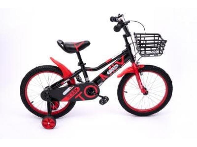 """Детский двухколесный велосипед TOMIX """"JUNIOR CAPTAIN 18"""", Red"""