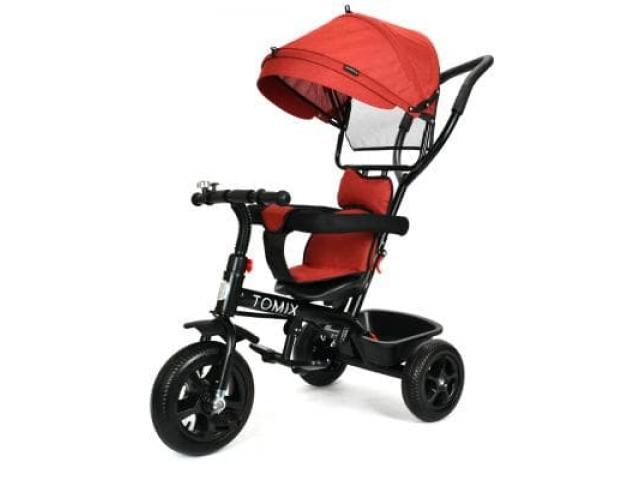 """Детский трехколесный велосипед TOMIX """"BABY TRIKE"""", Maroon"""