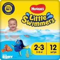 Трусики для плавания Huggies (2-3), 3-8 кг