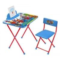 """Набор детской мебели Nika """"Marvel 2"""" (Д2М2 MARVEL Мстители 2),  от 3 до 7 лет."""