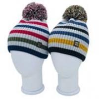 Pompona шапка 21 Z P 01 двойная вязка (р.52-54)