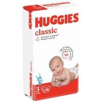 Подгузники Huggies Classic (3) Jumbo (4-9 кг) 58 шт