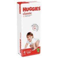 Подгузники Huggies Classic (4) Jumbo (7-18 кг) 50 шт