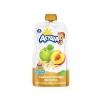 агуша яблоко-персик-овсянка 90 гр