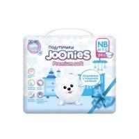 Joonies premium подгузники nb 0-5 кг 24 шт