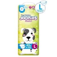 Joonies Comfort подгузники L42, 9-14 кг
