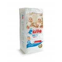 Подгузники-трусики  Ekitto Premium XL 34 (12+ кг)