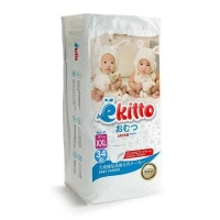 Подгузники-трусики  Ekitto Premium XXL 34 (15+ кг)