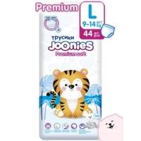 Joonies  Premium Soft подгузники-трусики L 44, 9-14  кг