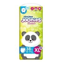 Joonies Comfort подгузники-трусики XL 38  12-17кг